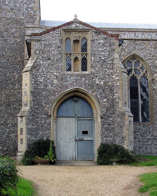 St Botolph, Hevingham, Norfolk - Porch