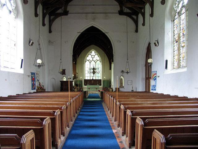 St Botolph, Hevingham, Norfolk - East end