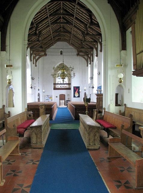 St Botolph, Hevingham, Norfolk - West end