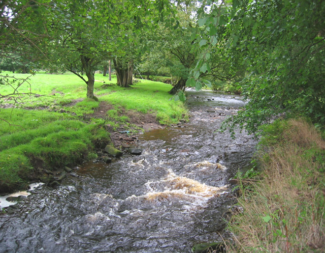 River Dane north east of Gradbach