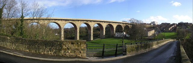 Newton Cap Viaduct  : Rail to Road Conversion