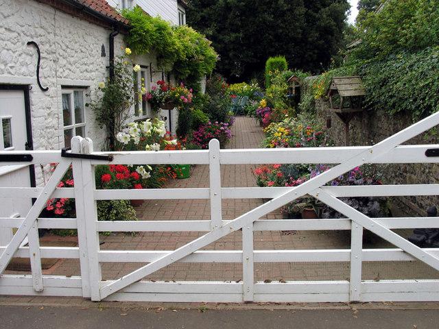 Garden next to All Saints, Thornham, Norfolk