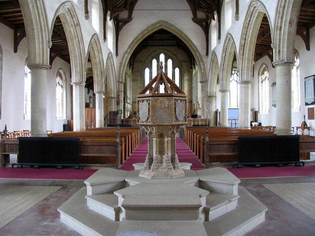 All Saints, Thornham, Norfolk - East end
