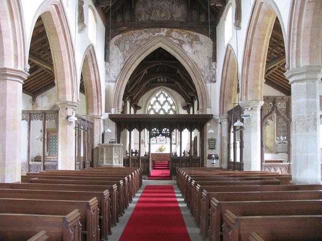 St Peter, Wolferton, Norfolk - East end