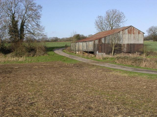 Barn near Upper Wyke