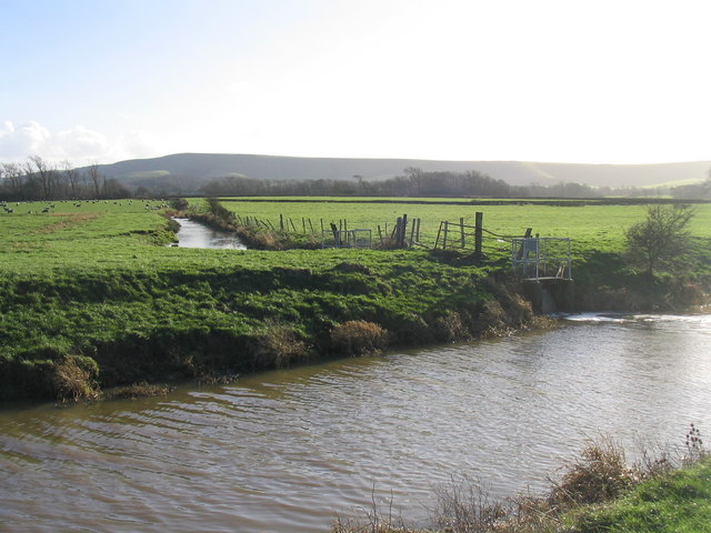 Glynde Reach with Firle Beacon in the background