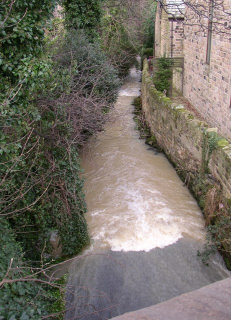 Stream downstream of Newmillerdam, off Barnsley Road, Crigglestone