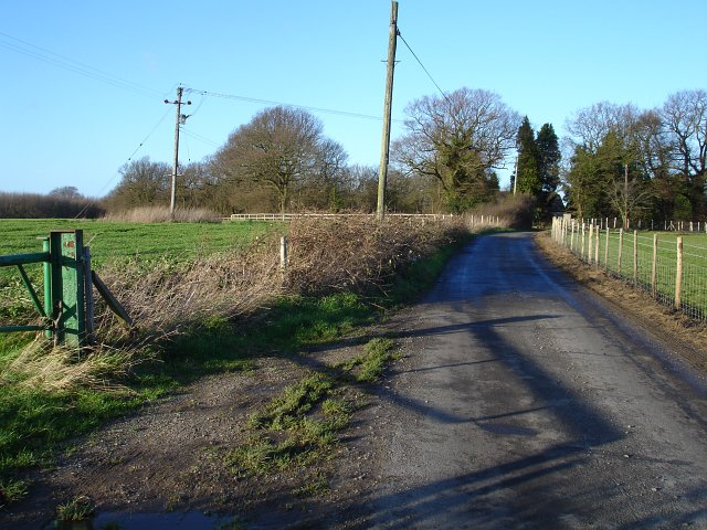 Passing place on Scragged Oak Road