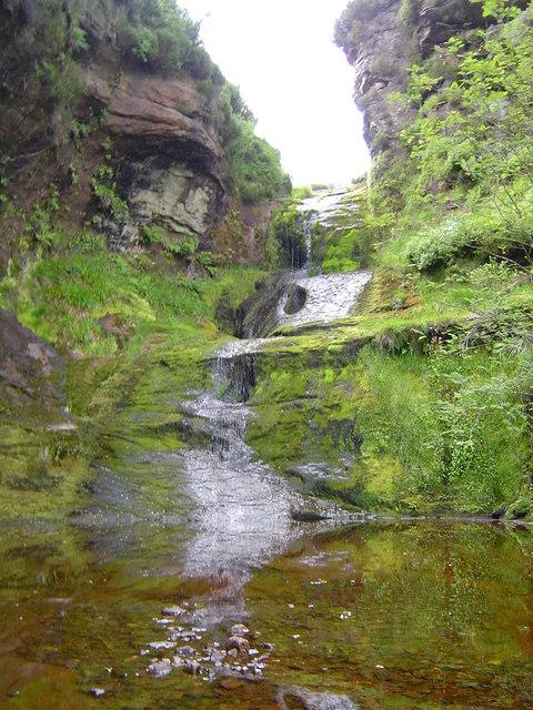 Waterfall At Galangad Burn