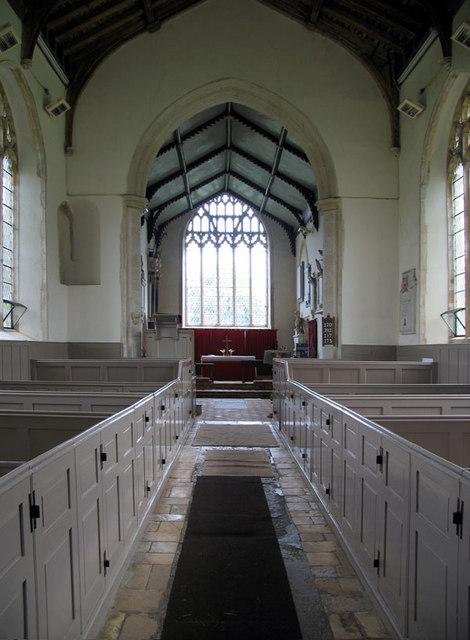St Margaret of Antioch, Felbrigg, Norfolk - East end
