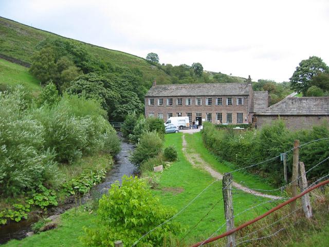 River Dane and Gradbach Mill