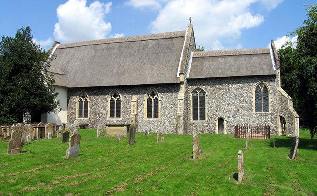 All Saints, Thurgarton, Norfolk