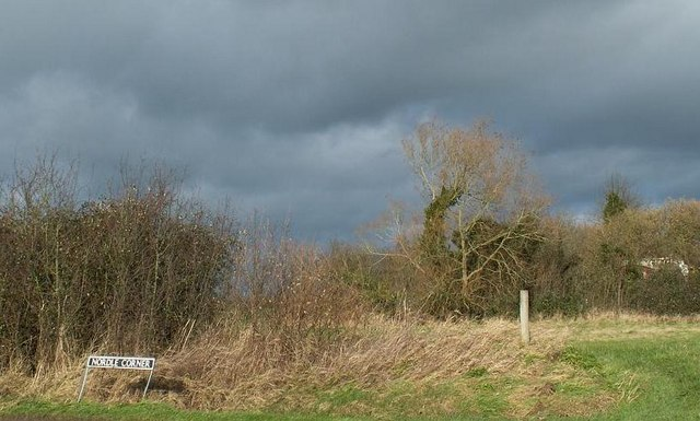 Stormy skies over Nordle Corner