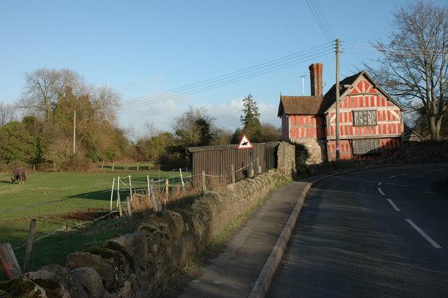 Timber-framed cottage, Weobley