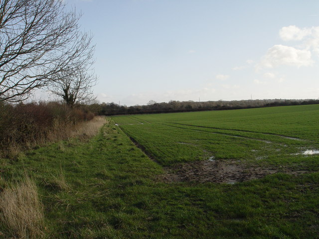 Farmland near Lower Barnsley Farm