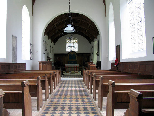 St Giles, Colby, Norfolk - East end