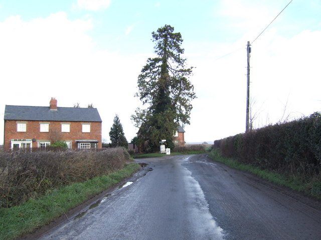 Cottages by Chilstone Cross