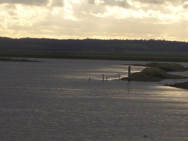 High Tide in Stow Creek near Fambridge, Essex
