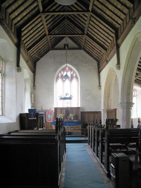 St Peter, Matlaske, Norfolk - East end