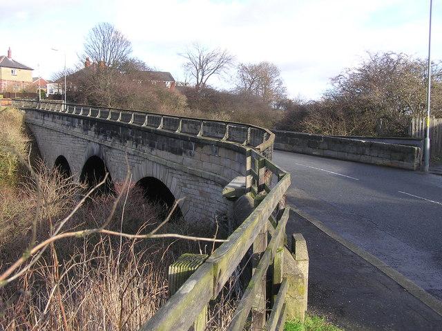 Railway Bridge : Etherley Lane : Bishop Auckland