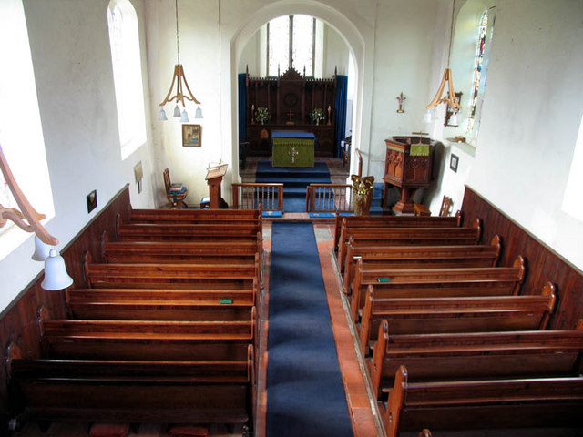 All Saints, Hempstead, Norfolk - East end