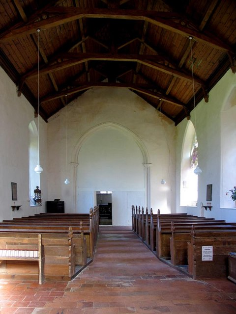 St Maurice, Briningham, Norfolk - East end