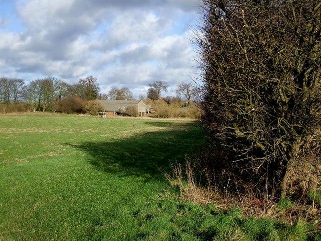 Fairview Farm across fields