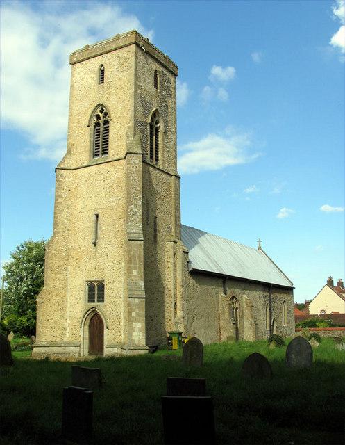All Saints, Sharrington, Norfolk