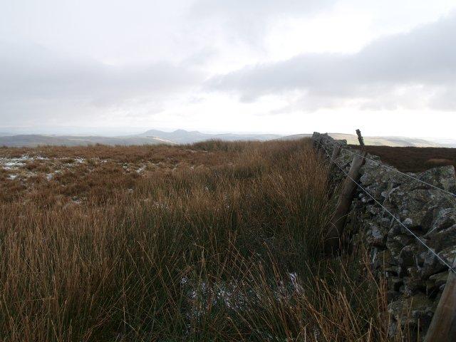 Summit, Ferniehirst Hill