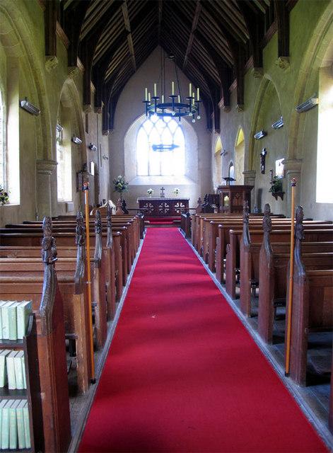 All Saints, Sharrington, Norfolk - East end