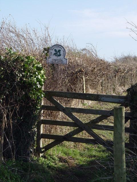 Kingston Lacy Estate Boundary gate