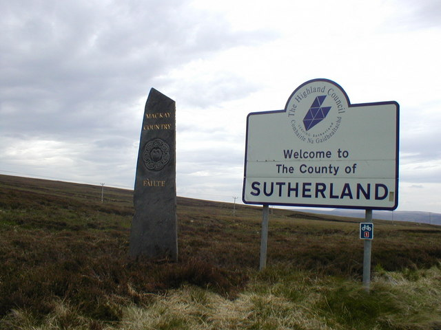 Sutherland County Sign