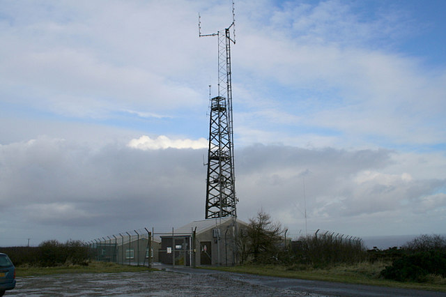 Air Traffic radio station on Windyheads Hill.