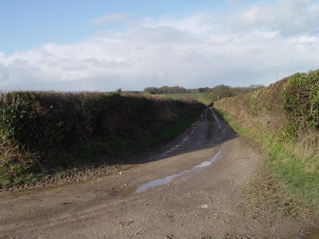Lane near Hemsworth