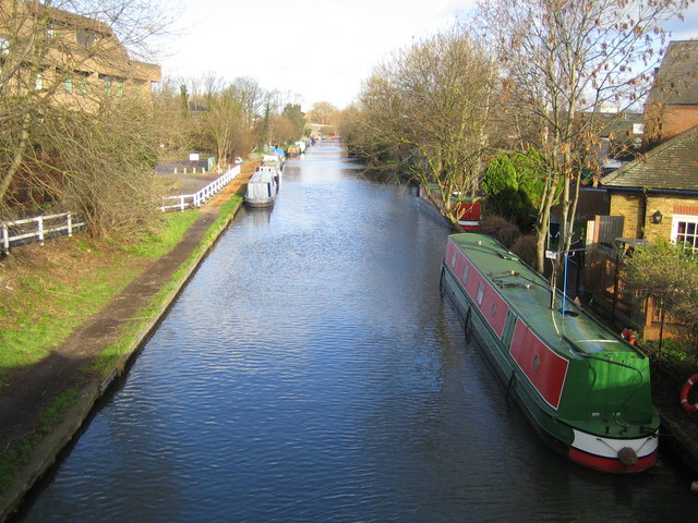 Grand Union Canal in Uxbridge