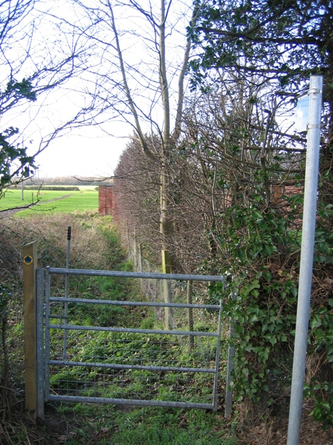 Bridleway from the A41 to Saighton