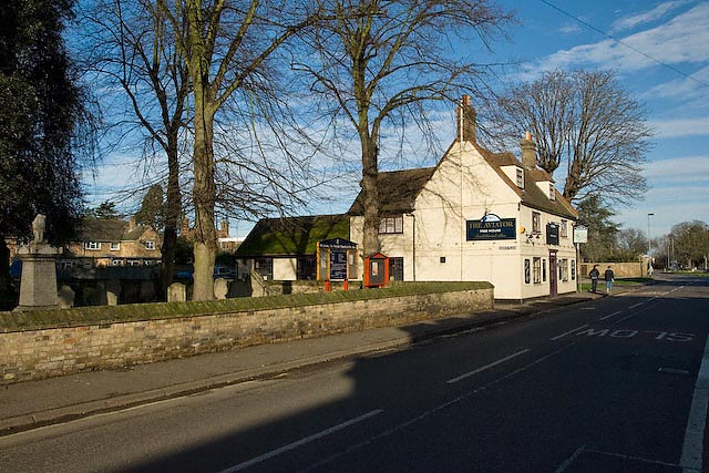 The Aviator Public House on Ramsey Road