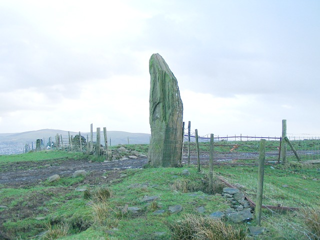 Carreg Bica standing stone