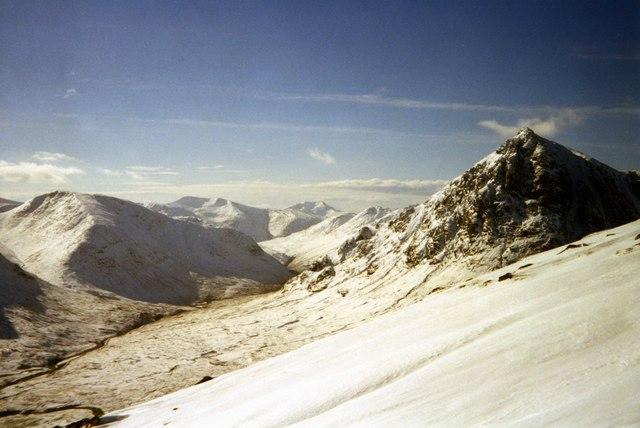 View from Beinn a Chrulaiste