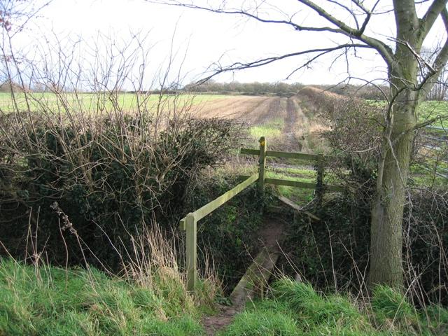 Footpath Crossing Ditch