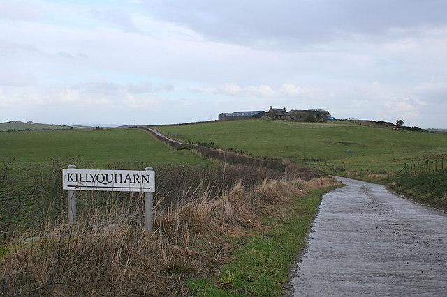 Killyquharn Farm sign