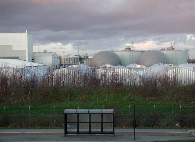 Salt End Sewage Works