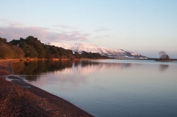 North shore of Loch Leven