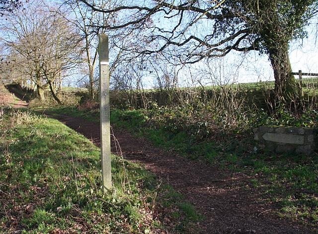 The Path Up Chase End Hill