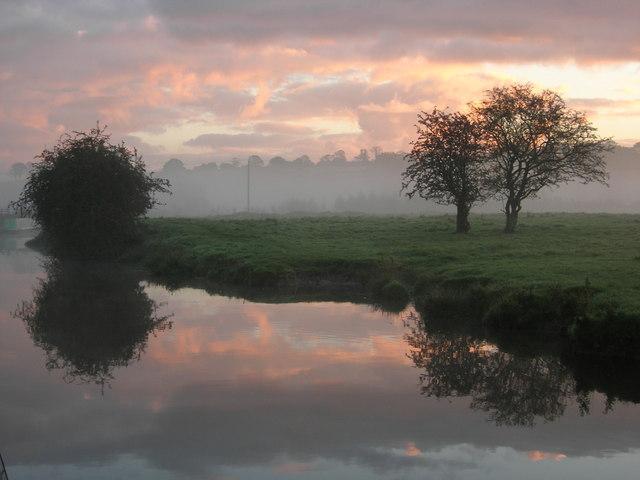 Caldon Canal Near Endon