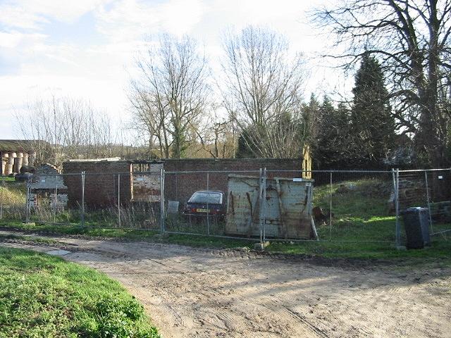 Farm track at Newnham Farm.