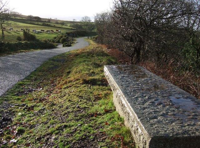 Wet seat on the Granite Way