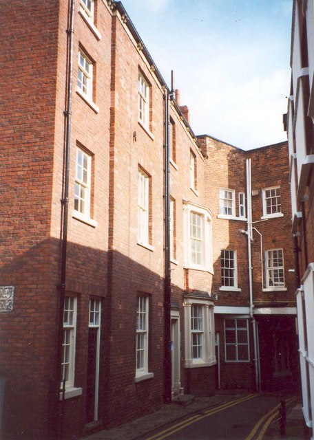 Mr Gissing's House, Thompson's Yard, Westgate, Wakefield