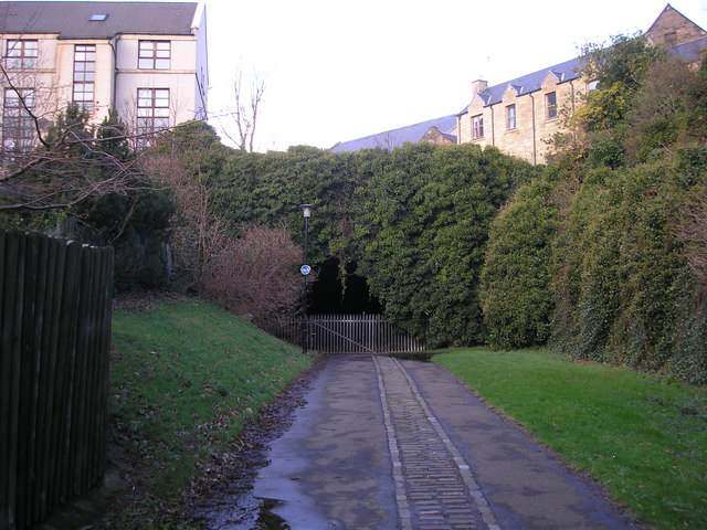 Southern end of the Heriothill (or, Rodney Street) Tunnel