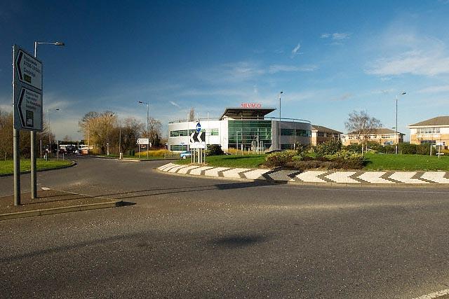 Giffords Farm Business Park Roundabout, St Ives